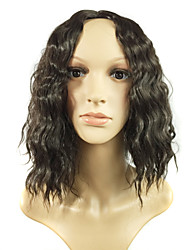 Popular Fashion in Europe and The Black Hair Simulation Human Hair Wigs