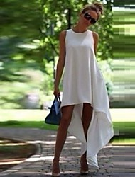 GIVENCHY&ONE Women's Irregular Hem Sleeveless Dress