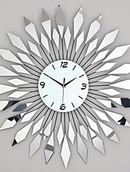 Reloj de pared - Vidrio/Metal - Moderno/Contemporáneo - Vidrio/Metal
