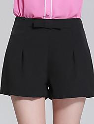 Casual - Polyester - Inelastisch - Kort - Broek - Vrouwen