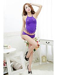 Para Mujer Ropa de dormir - Babydoll y Slip/Ultrasexy/Uniforme y Cheongsam - Malla