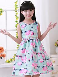 Girl's New Cuhk Children Sleeveless Dress