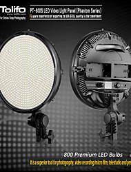PT-800 ha condotto la luce di illuminazione video digitale