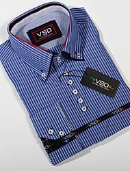 New 2015 Italian Dress shirts Men's Blouses long-sleeve Casual Shirt Slim Fit Chemise Homme