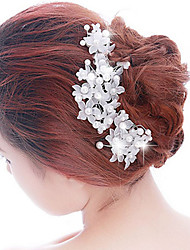 Flower Diamond Hair Flower Bride Hair Wedding Headdress