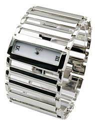 Women Vintage Luxury Watches 2015 New Elegant Quartz Fashion Rectangle Dial Watch Bracelet Casual Wristwatches