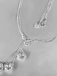 novo design novo designparty / trabalho / prata banhado ocasional indicação elegante jóias elegante jóias