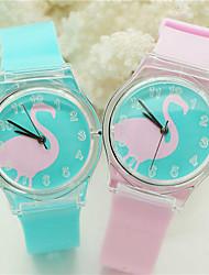 Children's Unisex Pattern Digital Silicone Band Quartz Imported machine Analog Wrist Watch Ladies'  Wrist Watch