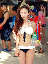 De las mujeres Bikini Halter - Espándex