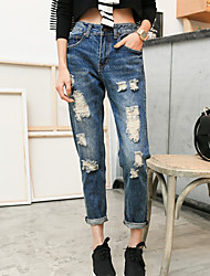 Women's Wind Hole Jeans
