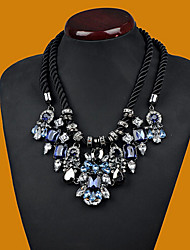 Nuoqi Fashional Popular Luxury Crystal Gem Necklace