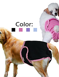 Solid Color Dog Sanitary Physiological Pants for Dogs (Assorted Colors and Sizes)