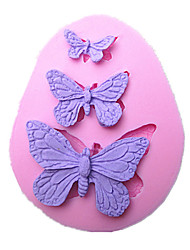 Butterfly Cake Mold Handmade Silicone Baking Tools Decorations For Cakes Fondant Chocolates Mold SM-042