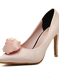 Women's Shoes Satin Stiletto Heel Pointed Toe Pumps Wedding More Colors available