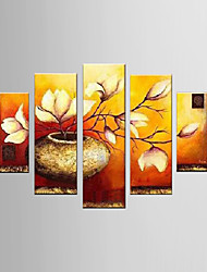Oil Painting Decoration Abstract  Hand Painted Canvas with Stretched Framed - Set of 6