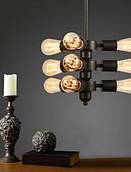 MAX:60W Plafond Lichten & hangers ,  Retro Goud Kenmerk for Ministijl MetaalWoonkamer / Slaapkamer / Eetkamer / Studeerkamer/Kantoor /