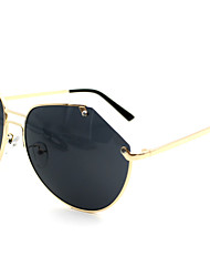 Sunglasses Women's Fashion Flyer Silver / Gold / Gray Sunglasses Half-Rim