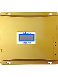 doble banda DCS 1800MHz GSM 900MHz repetidor de señal de teléfono celular lcd amplificador de señal móvil GSM 900 1800 repetidor