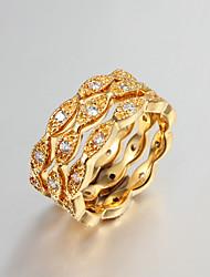 chapado en oro partido declaración anillos de boda anillo de mayor venta de la joyería de 2015 productos de venta caliente