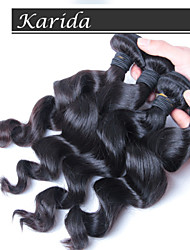 10-30inch 4 pieces Unprocessed Virgin Malaysian Loose Wave Hair, 100% Malaysian Virgin Hair