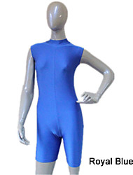 Nylon/Lycra Turtle Neck Unitard with Zipper Back More Colors for Girls and Ladies