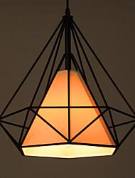 Retro Diamond Shaped Chandelier Restaurant Lighting Hanging Lamp Living Room Lights Coffee Shop Lamps