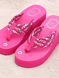 hayoha сандалии женщин платформы 2015 летом флип-флоп обувь тапочки пляжные сандалии случайные