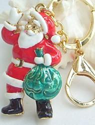 Christmas Gift!!Santa Claus Key Chain Purse Charming