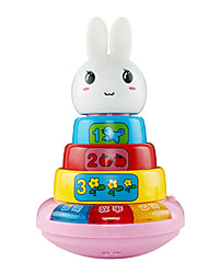 Electric Rabbit Toy with Music and Light for Children