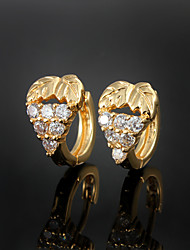 New Products Party/Casual Gold Plated Hoop Earrings Beautiful jewelry