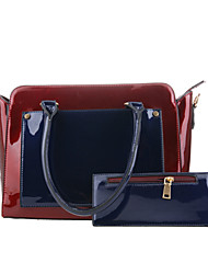 Du Mengsha 2015 New High-end Mirror MS PU Handbag Package