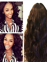 Full Lace Human Hair Wigs 8A Brazilian Virgin Human Hair Wigs Glueless Lace Front Wig with Baby Hair Color 1# 1b# 2# 4#