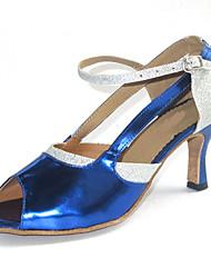 Zapatos de baile ( Multicolor ) - Danza latina/Salsa/Zapatos Estándar Tacón Personalizado