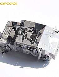 hummer 3d autoradio puzzle jouet métallique d'assemblage de puzzle enfants modèles adulte