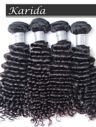 Peruvian Deep Wave 4 pcs/ lot Free Shipping, Top Grade Virgin Peruvian Dody Wave Hair