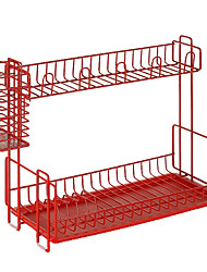 Nachuan Tableware Storage Rack Double Dishes Rack (AO169)