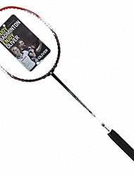 Men/Unisex/Women/Kids Badminton Rackets Low Windage/High Elasticity/Durable 2 Pcs Carbon Fiber
