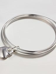 venda da promoção partido / trabalho / prata banhado ocasional bracelete jóia nova moda