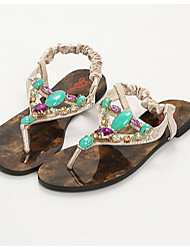 Women's Shoes Sandals/Slippers Casual Silver/Gold
