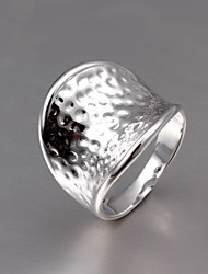 925 Silver Plated Party/Daily Wide Band Rings 1pc