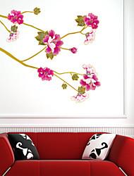 adesivos de parede do estilo adesivos de parede parede kim flor voando pvc adesivos