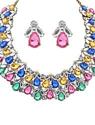Colliers décoratifs/Boucles d'oreille ( Alliage/Acrylique ) Soirée/Travail/Tous les jours pour Femme