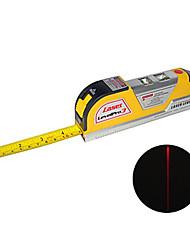 3 в 1 лазерный уровень рулетка комплекта в 2,5 метра или 8 футов длиной