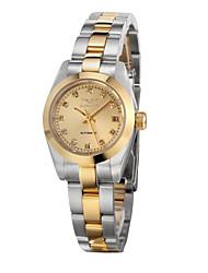 GUANQIN® High-end Luxury Fashion Automatic Self-winding Diamond Watch Steel Waterproof Calendar 26mm Women Wristwatch Cool Watcheses With Watch Box