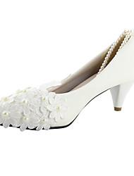 Белый - Свадебная обувь - Женский - На каблуках - Обувь на каблуках - Свадьба