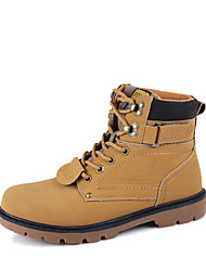 Men's Shoes Casual  Boots Black/Yellow/Khaki