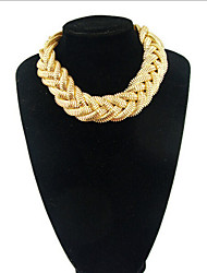 New Arrival Fashional Hot Selling High Quality Big Chain Weave Necklace