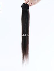 2015 precio de fábrica vendedor caliente de 14 pulgadas color natural del pelo remy indio recto
