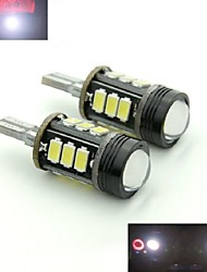 teso t15 5W DC 11 bis 13 v 12pcs 5630/5730 SMD LED 6000-6500K Hervorhebung rogue Backup-Lampe Linse LED-Bremsleuchten