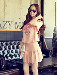 Pink Doll®Women's Casual/Cute Straight Skirt